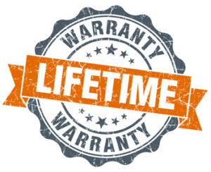 Lifetime warranty springs are more durable than standard springs and may pay for themselves with savings from maintenance.