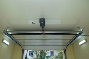 It's possible to open a garage door manually when the power goes out.